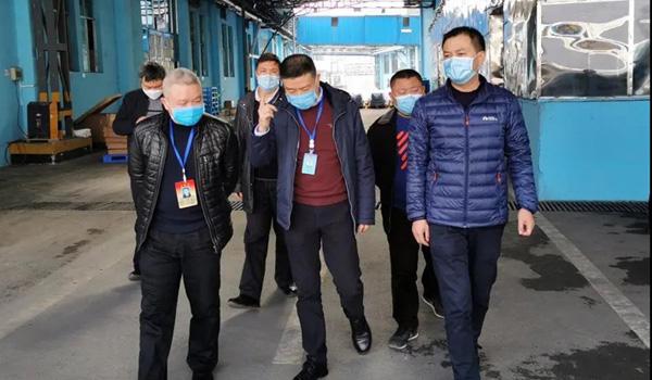 贵阳市工商联副主席刘刚调研安达科技复工复产情况